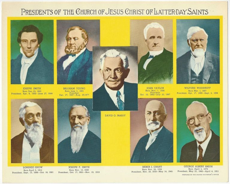 Presidents of the Church of Jesus Christ of Latter-day Saints. Church Historian's Office.