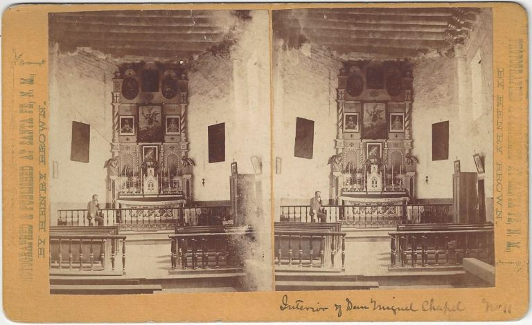'Interior of San Miguel Church No. 11'. William Henry Brown.