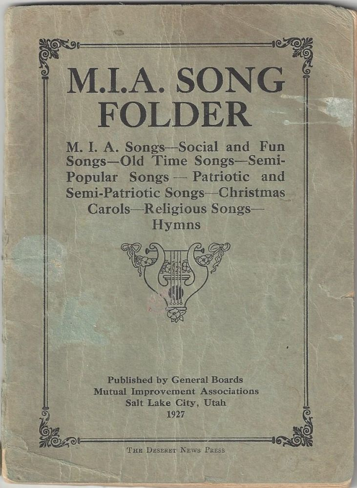 M I A Song Folder M I A Songs Social And Fun Songs Old Time Songs Semi Popular Songs Patriotic And Semi Patriotic Songs Christmas Carols