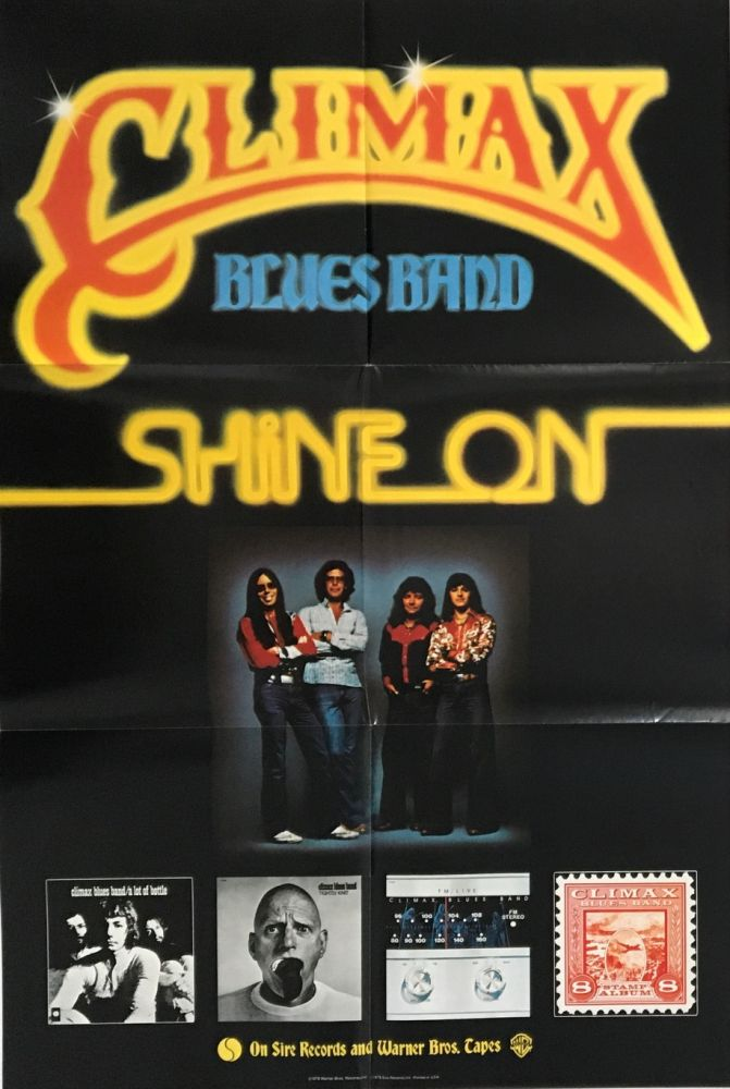 Shine On [Poster]. Climax Blues Band.