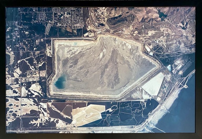 Kennecott Tailings Pond, Magna and Saltair. Industrial Photography, Mining.