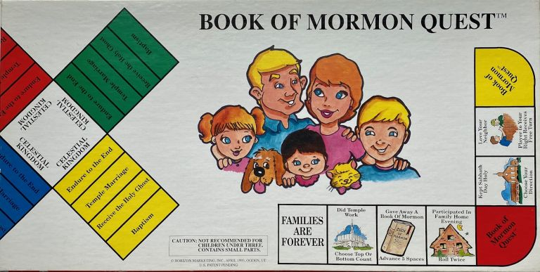 Book of Mormon Quest. Mormon, LDS.