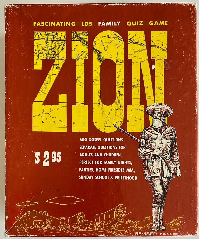Zion: The Fascinating New L.D.S. Family Quiz Game [Small Version]. Paul R. Green, Ann C. Green.
