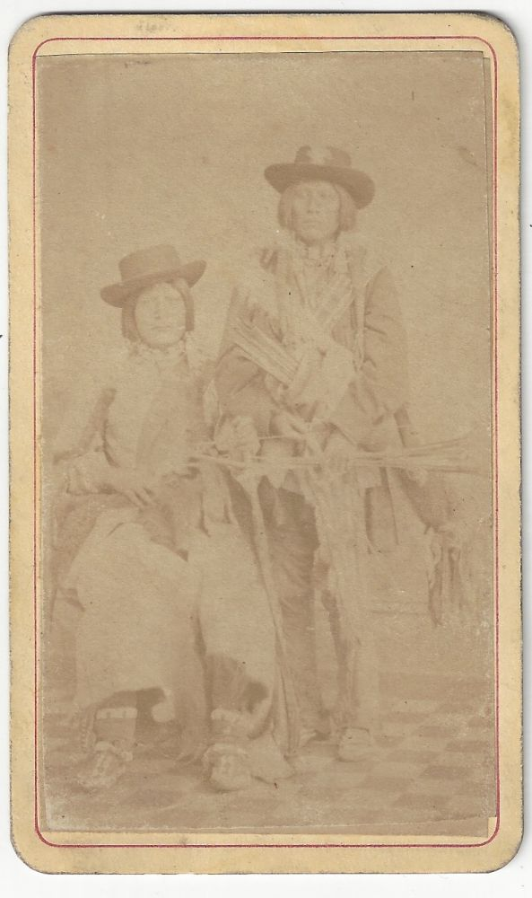 Unidentified Native Americans. Duhem Brothers.