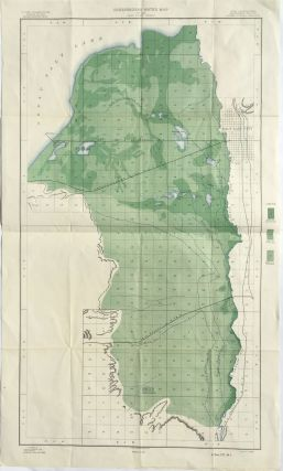 Underground Water Map - Utah - Salt Lake Sheet. Frank D. Gardner, John Stewart.