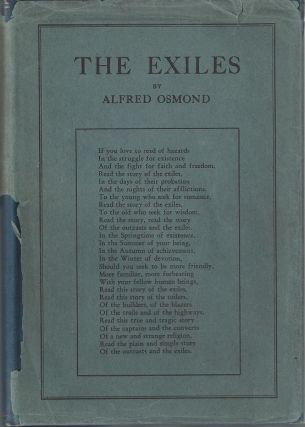 The Exiles: A True and Tragic Story of Heroic Struggles and Masterful Achievements. Alfred Osmond
