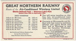 Great Northern Railway. Railroad, Great Northern