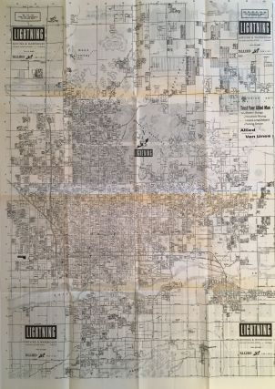 Street Map of Phoenix, Arizona and Vicinity. Arizona