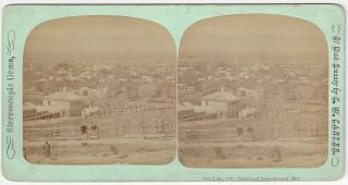 Salt Lake City, Southwest from Arsenal Hill. Charles William Carter