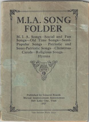 M.I.A. Song Folder. M.I.A. Songs - Social and Fun Songs - Old Time Songs - Semi-Popular Songs -...