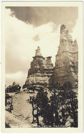 Queen Victoria - Bryce Canyon Nat'l Park [Real Photo Postcard]. Utah Parks Company
