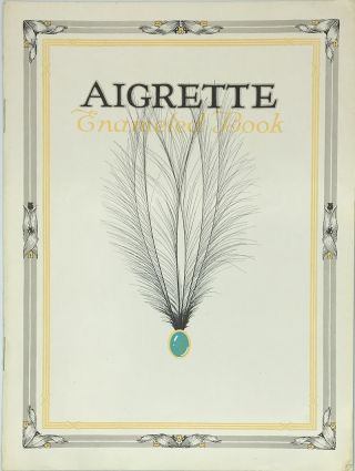 Aigrette Enameled Book. Paper Catalog