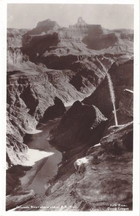 Colorado River above end of B.A. Trail. Kolb Brothers