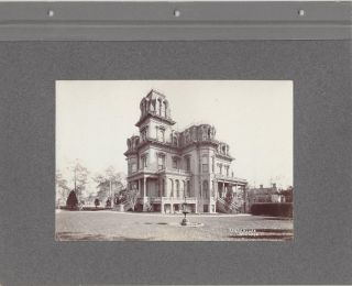 Gardo House, Salt Lake [BACKED WITH] Brigham Young's Grave / Brigham Young's Schoolhouse