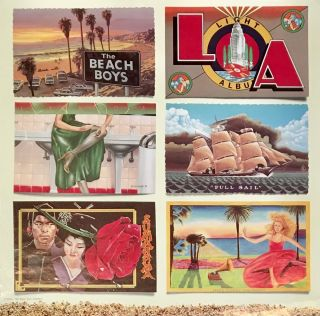 L.A. (Light Album) [Poster]. Beach Boys