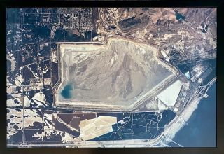 Kennecott Tailings Pond, Magna and Saltair. Industrial Photography, Mining