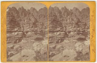Crags of Mile - Crag Bend: Views on the Colorado River - Cataract Canon Series. E. O. Beaman,...