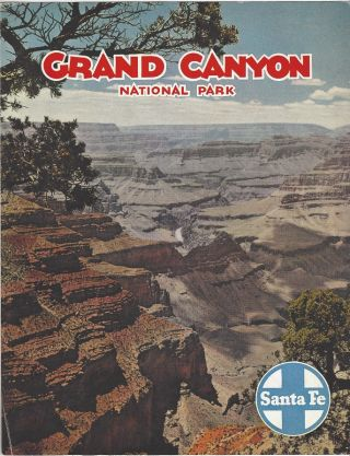 Grand Canyon National Park. Santa Fe Railway
