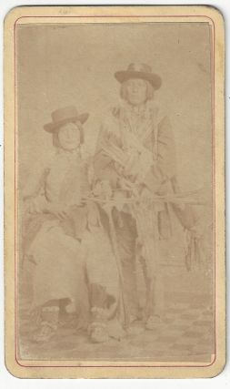 Unidentified Native Americans. Duhem Brothers