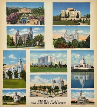 Temples of the Church of Jesus Christ of Latter Day Saints. Mormon, LDS