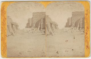 A Street Scene in Oraibi. Shi-Ni-Mos. Indians of the Colorado Valley, No. 81. John K. 'Jack'...