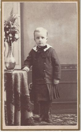 Unidentified boy. Alexander Fox, Charles William Symons