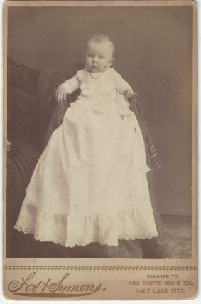 Unidentified baby. Alexander Fox, Charles William Symons