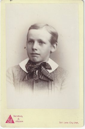 'Nettie' [unidentified boy]. Charles Ellis Johnson