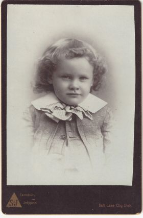 'Aunt Jane' [unidentified child]. Charles Ellis Johnson