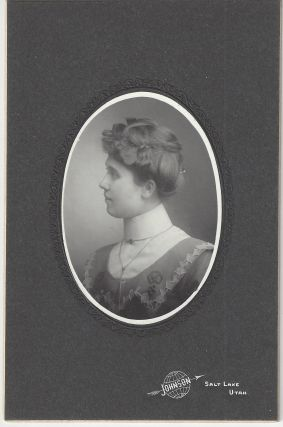 Unidentified woman. Charles Ellis Johnson