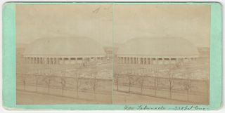 """New Tabernacle – 200 feet long"". Charles Roscoe Savage."