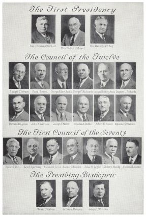 LDS General Authorities. Heber J. Grant