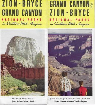 Zion, Bryce, Grand Canyon National Parks in Southern Utah and Arizona